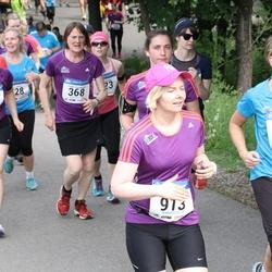 Helsinki Half Marathon - Paula Huuhtanen (368), Lily Huuhtanen (369), Marika Koukkari (652), Nina Moisio (913)