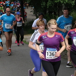 Helsinki Half Marathon - Pekka Hyvämäki (381), Eija Mellin (888), Katariina Sihvo (1362)