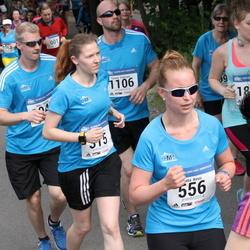 Helsinki Half Marathon - Jasmiina Hietala (315), Jutta Kesti (556)