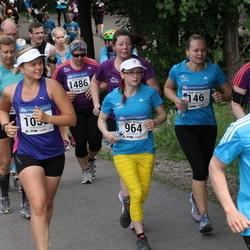Helsinki Half Marathon - Heidi Davies (146), Marika Niemelä (964), Teija Paavilainen (1058), Seppo Savikko (1339), Vera Tarvonen (1486)