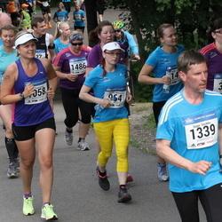 Helsinki Half Marathon - Kati Hurme (364), Marika Niemelä (964), Teija Paavilainen (1058), Seppo Savikko (1339)