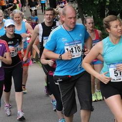 Helsinki Half Marathon - Birgit Karikoski (518), Taina Lyly (829), Tero Somppi (1410)