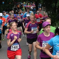 Helsinki Half Marathon - Maiju Huhtala (354), Ilari Lehtonen (768), Kati Tamminen (1482)