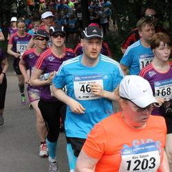 Helsinki Half Marathon - Petrus Järvinen (469), Kirsi Ratinen (1203), Annika Virtanen (1685)