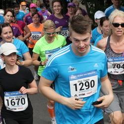 Helsinki Half Marathon - Hanna Laakso (704), Otso Saano (1290), Marja Vilkman (1670)