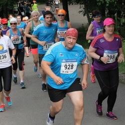 Helsinki Half Marathon - Sanna Helmikkala (298), Jyri Mustonen (928), Vicki Rinne (1236)