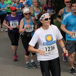 Helsinki Half Marathon - Gökcen Eraslan (175), Leena Marttila (870), Vicki Rinne (1236)