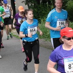 Helsinki Half Marathon - Jan Forsblom (196), Karita Lampi (734), Kirsi Naisniemi (954)