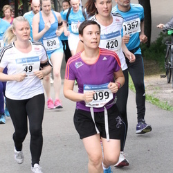 Helsinki Half Marathon - Jenny Alanen (49), Liisa Ingman (420), Ella Peltola (1099)