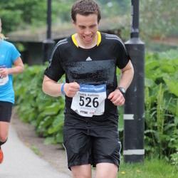 Helsinki Half Marathon - Fredrik Karlsson (526)