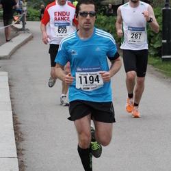 Helsinki Half Marathon - Tuomas Heiskanen (287), Fernando Ramirez (1194)