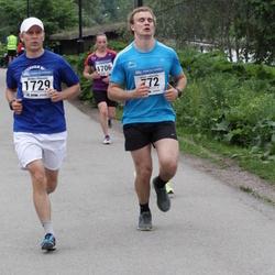 Helsinki Half Marathon - Albert Lehtovirta (772), Miikka Ylimaula (1729)