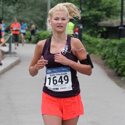 Helsinki Half Marathon - Emilia Viherkoski (1649)
