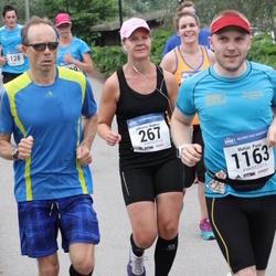 Helsinki Half Marathon - Johanna Hedman (267), Matias Pusa (1163)