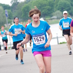 Helsinki Half Marathon - Tiia Vento (1629)