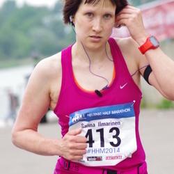 Helsinki Half Marathon - Sanna Ilmarinen (413)