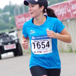 Helsinki Half Marathon - Sanna Viinikkala (1654)