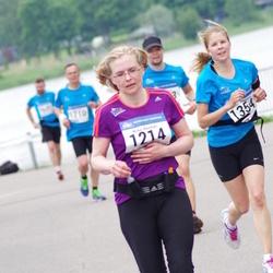 Helsinki Half Marathon - Mirka Reinman (1214), Annika Seppänen (1354)