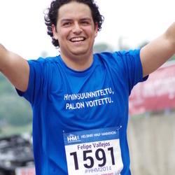 Helsinki Half Marathon - Felipe Vallejos (1591)