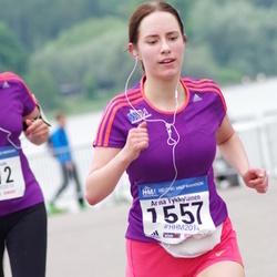 Helsinki Half Marathon - Anna Tykkyläinen (1557)