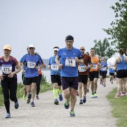Helsinki Half Marathon - Georgijs Abramovs (14), Simon Riesen (1224)