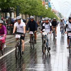 Velomarathon 10 km/20 km/30 km - Andrius Dambrauskas (6810), Inga Lauruševičienė (6834), Arūnas Ostasevičius (6847), Julija Švedko (6863)