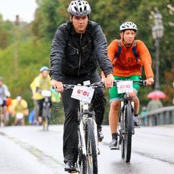 Velomarathon 10 km/20 km/30 km - Zigmas Vinogrodskis (4292), Vytautas Kunigėlis (6101)