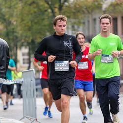 11th Danske Bank Vilnius Marathon - Darius Daugvila (4237), Martynas Žekas (6193)