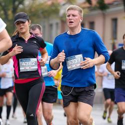 11th Danske Bank Vilnius Marathon - Ruta Gervelyte (4382), Paulius Ivanauskas (5337)