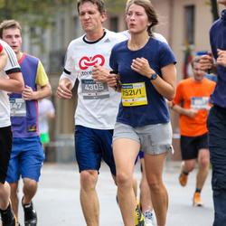 11th Danske Bank Vilnius Marathon - Mantas Barzda (4305), Živile Miežyte (75211)