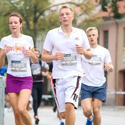 11th Danske Bank Vilnius Marathon - Antanas Mikuta (5003), Živile Merkyte (5665)