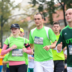 11th Danske Bank Vilnius Marathon - Migle Žalaite (5508), Mindaugas Grikšelis (6274)