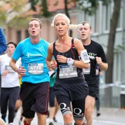 11th Danske Bank Vilnius Marathon - Mindaugas Urbonavicius (4779), Marija Meškauskiene (5193)