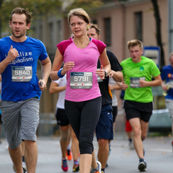 11th Danske Bank Vilnius Marathon - Giedre Naujokaityte (5791), Vytautas Žukauskas (5840)