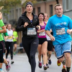 11th Danske Bank Vilnius Marathon - Simona Kulevicute (5883), Gedas Baranauskas (6787)
