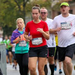 11th Danske Bank Vilnius Marathon - Vytautas Juozapaitis (4825), Goda Sniokaite (4858)