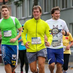 11th Danske Bank Vilnius Marathon - Tomas Deltuvytis (5331), Marijonas Radžiunas (5496), Aleksandr Metsiun (5652)