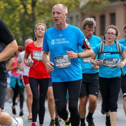 11th Danske Bank Vilnius Marathon - Freddy Tollefsen (4343), Egle Džiugyte (6447)