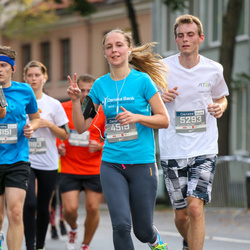 11th Danske Bank Vilnius Marathon - Monika Bartaškaite (4519), Marius Kasciuskevicius (5293)