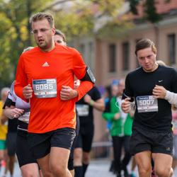 11th Danske Bank Vilnius Marathon - Justinas Raulušaitis (5007), Mantas Pašilis (6085)