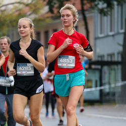 11th Danske Bank Vilnius Marathon - Egle Abeciunaite (4285), Aiste Bendoraityte (4853)