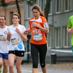 11th Danske Bank Vilnius Marathon - Ieva Meržvinskaite (5369), Jurgita Markeviciene (5680)