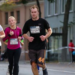 11th Danske Bank Vilnius Marathon - Evaldas Mince (5824), Julija Nauncikaite (5844)
