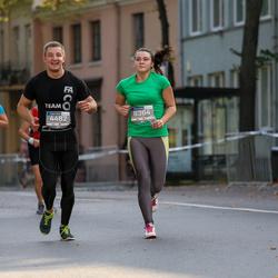 11th Danske Bank Vilnius Marathon - Nerijus Urbonas (4482), Gabriele Grabauskaite (6364)