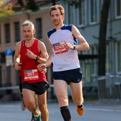11th Danske Bank Vilnius Marathon - Martynas Krulis (2049), Juozas Macys (3117)
