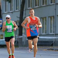 11th Danske Bank Vilnius Marathon - Kristijonas Gušcius (119), Ritvars Lerme (416)