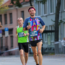 11th Danske Bank Vilnius Marathon - Ramunas Grumbinas (1153), Gintaras Gruodis (1222)