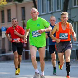 11th Danske Bank Vilnius Marathon - Ernestas Vedeikis (347), Antanas Kasparavicius (772)