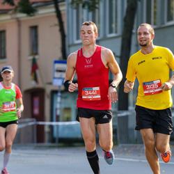 11th Danske Bank Vilnius Marathon - Nerijus Kliukas (3135), Martynas Janenas (3441)