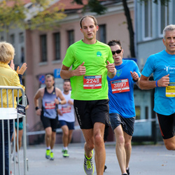 11th Danske Bank Vilnius Marathon - Aurelijus Dailidonis (2248), Bohn Eric (3897)